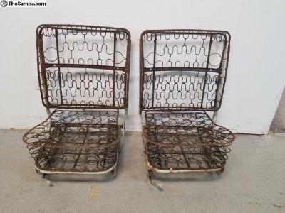 65 - 67 Bug Front Bucket Seat Frames