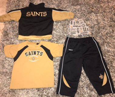 NFL Saints 12months 4pc Set