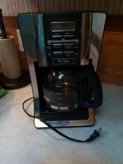Mr.Coffee programmable coffee maker