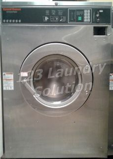 Good Condition Speed Queen Commercial Front Load Washer 60LB 1/3PH SC60BCFXU6​0001 Used