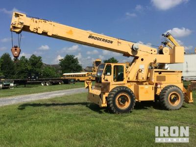 2008 (unverified) Broderson RT-300-2C Rough Terrain Crane