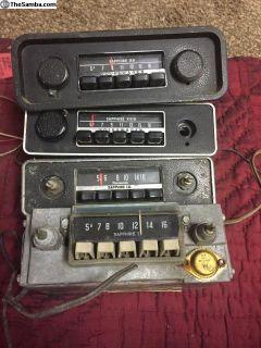 Sapphire Radio radio's