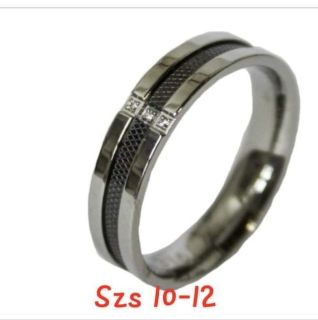 Stainless steel mens band -szs 10 & 12 only