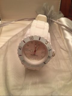 Ladies Oversized White Watch