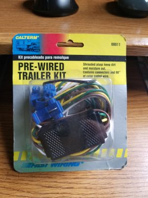 4 pin Pre-Wired Trailer Kit
