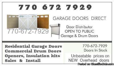 Garage Doors Direct, doors and installation co