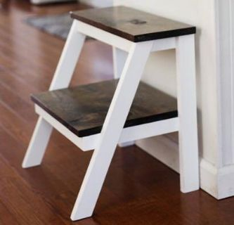 HANDCRAFTED Wooden Farmhouse Step Stool