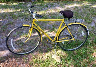 Vintage Holland Early 1970's collectible Raleigh Sprite Touring bicycle