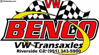 Benco Trans 60month warranty FREE UPS