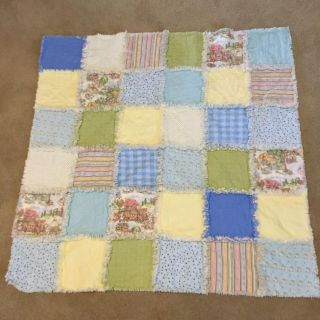 Home made baby quilts