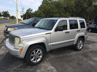 2008 Jeep Liberty Limited (Silver)