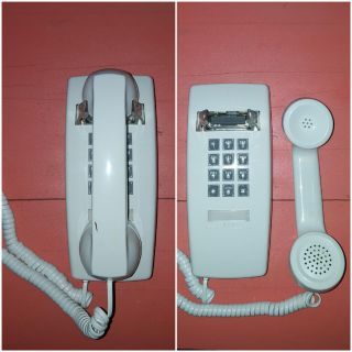 Vintage Push Button Wall Phone