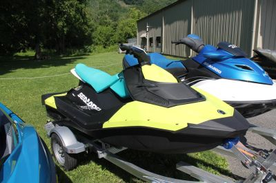 2018 Sea-Doo SPARK 3up 900 H.O. ACE iBR & Convenience Package Plus 3 Person Watercraft Adams, MA