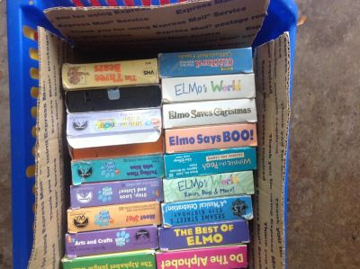 Child VHS Tapes (BOX)