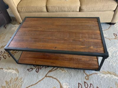 Rolling Coffee Table