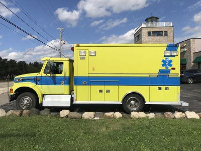 Former Ambulance can be used as a Camper