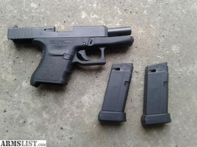 For Sale: Used Glock 36 - Single Stack .45 ACP pistol