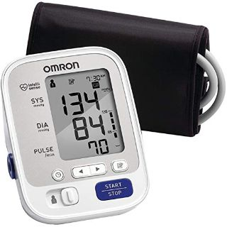 Omron 5 Series Upper Arm Blood Pressure Monitor; 2-User, 100-Reading Memory, Soft Wide-Range Cuff