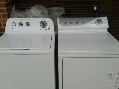 Amana Washer & Maytag Dryer