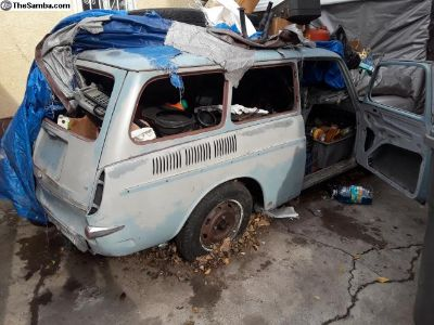 1966 Volkswagen squareback project