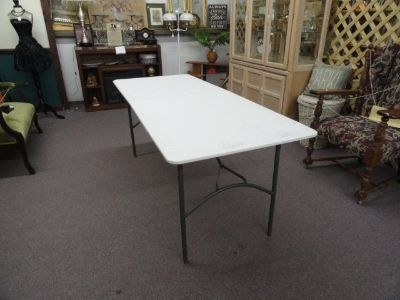 White Folding Tables 6 Foot