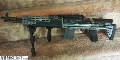 For Sale: M1A Socum with Sage EBR Stock