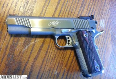 For Sale: Kimber Classic Stainless Gold Match 1911 45ACP 5""