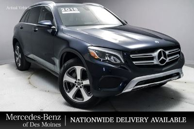 2018 Mercedes-Benz GLC (Lunar Blue Metallic)