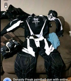 Empire Paintball outfit.