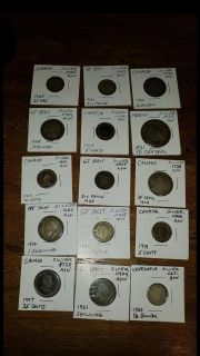 Silver coin lot