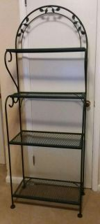 WROUGHT IRON STAND......EXCELLENT CONDITION