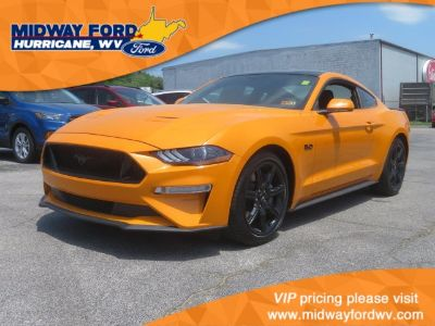 2018 Ford Mustang GT (Orange Fury Metallic Tri-Coat)