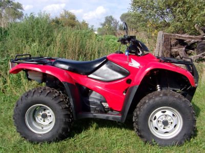 2008 Honda FourTrax Rancher 4x4 ES Utility ATVs Mukwonago, WI