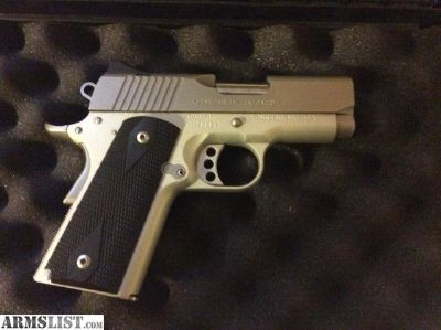 For Sale: Kimber Stainless Ultra Carry II