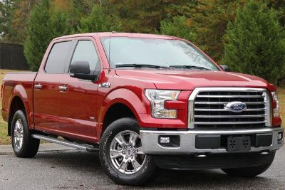 2016 Ford F-150 XLT (Red)