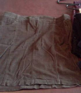 Adorable Brown Ladies corduroy suit Size 14XL