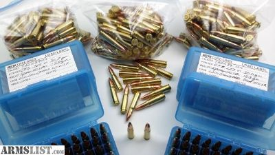 For Sale: For Sale: Reloadable Brass Winchester 7.62 x 39 mm Ammo (515 rounds total) Plus Shell Boxes and Bullets!