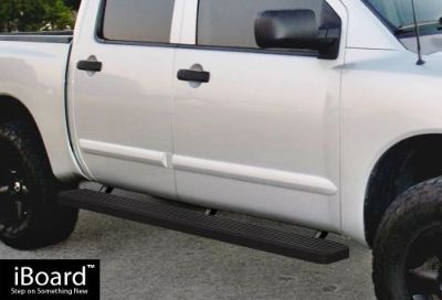 "Sell Premium 5"" Black iBoard Side Steps Fit 04-16 Nissan Titan Crew Cab motorcycle in Ontario, California, United States"
