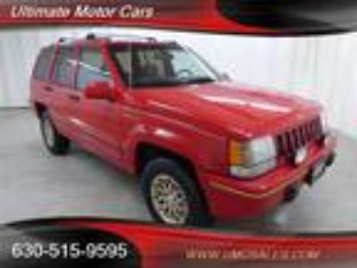1993 Jeep Grand Cherokee Limited 4dr Limited 5.2L V8 OHV 16V FI Engine