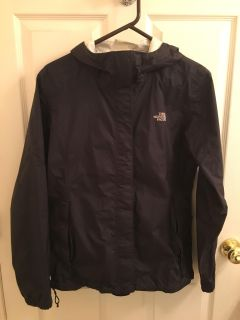 Large black Womens North Face Jacket