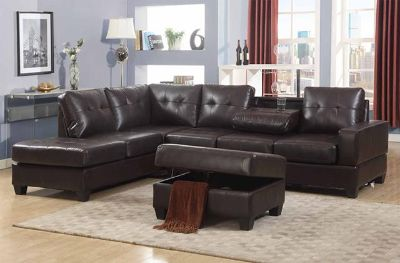 $900, Sectional with Ottoman
