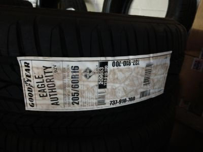 Goodyear tires set of 4