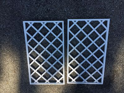Wine rack grates - Pinterest projects