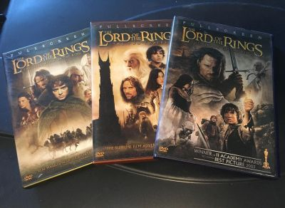 Lord of the rings trio