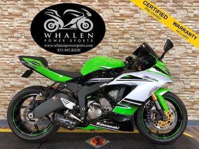 2015 Kawasaki Ninja ZX -6R ABS 30th Anniversary SuperSport Motorcycles Port Charlotte, FL