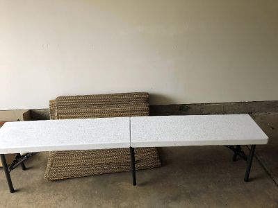 Cosco 6 ft fold up bench