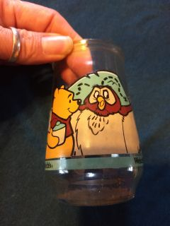 Pooh collectible jelly glass