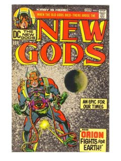 New gods rare mint edition two copies