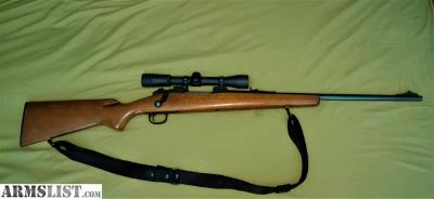 For Sale: Deer Rifle