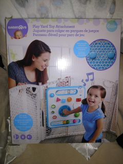 Play yard attachment toy